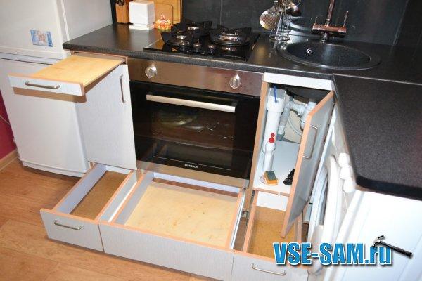 Как самим сделать кухонный гарнитур 460