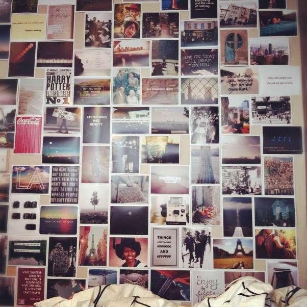 Настенные коллажи из фотографий своими руками