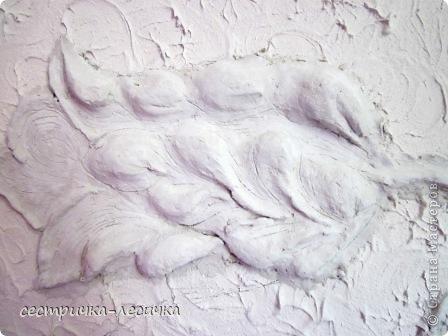 Интерьер Мастер-класс Лепка Лепка на стене №2 Бумага Гипс Краска фото 17