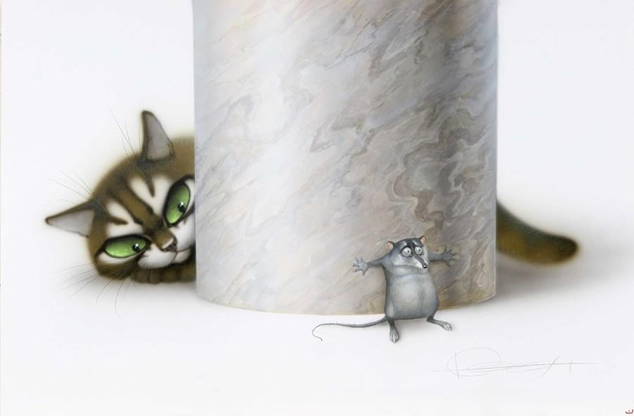 Маленькие домашние хищники. Иллюстрации Владимира Стахеева