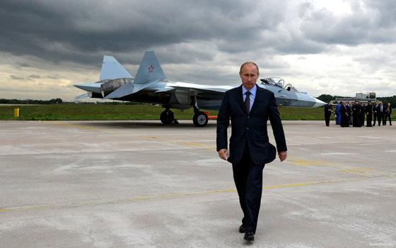 The telegraph: Походка Путина демонстрирует готовность стрелять в любой момент