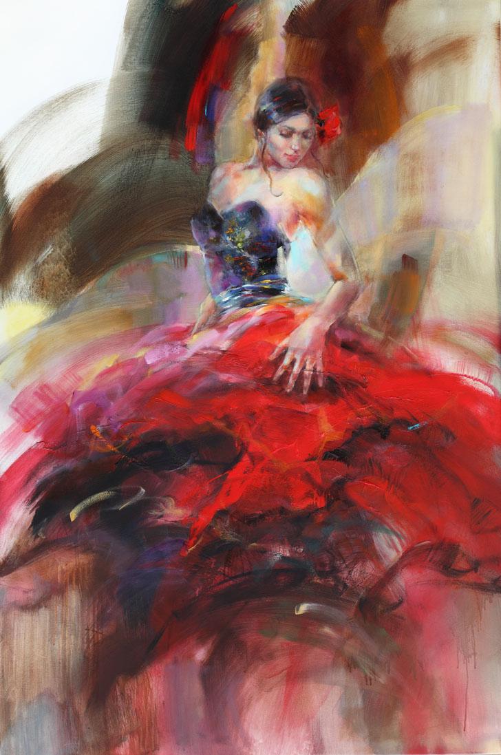 Женские образы в творчестве Анны Разумовской