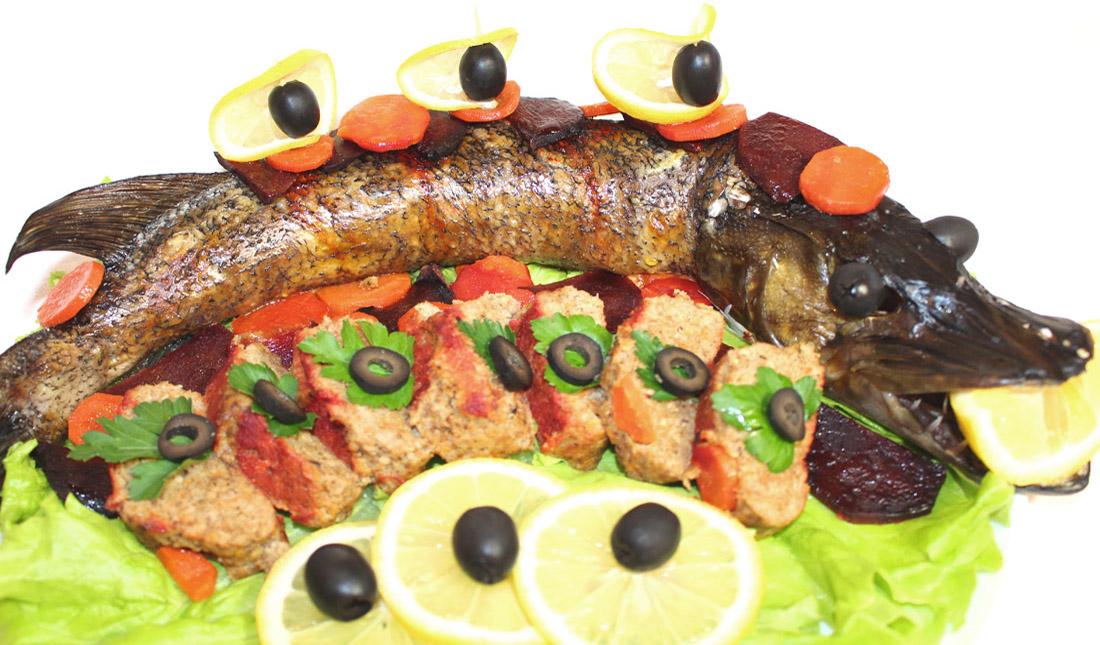 Щука фаршированная + Бонус (ленивая фаршированная рыба)