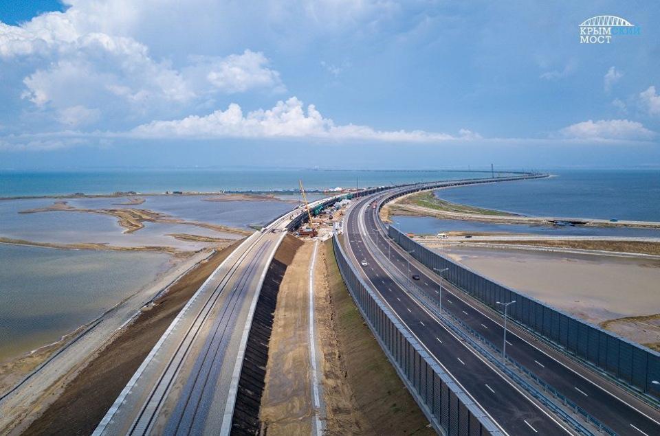 Санкции за Крымский мост