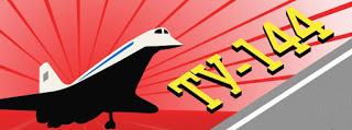 Сверхзвуковой пассажирский самолёт Ту-144. Инфографика