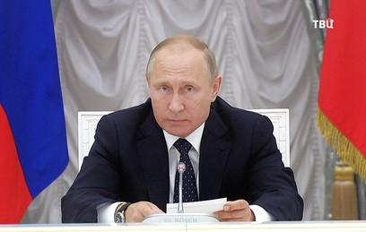 Путин пожелал новому правительству здоровья и сил