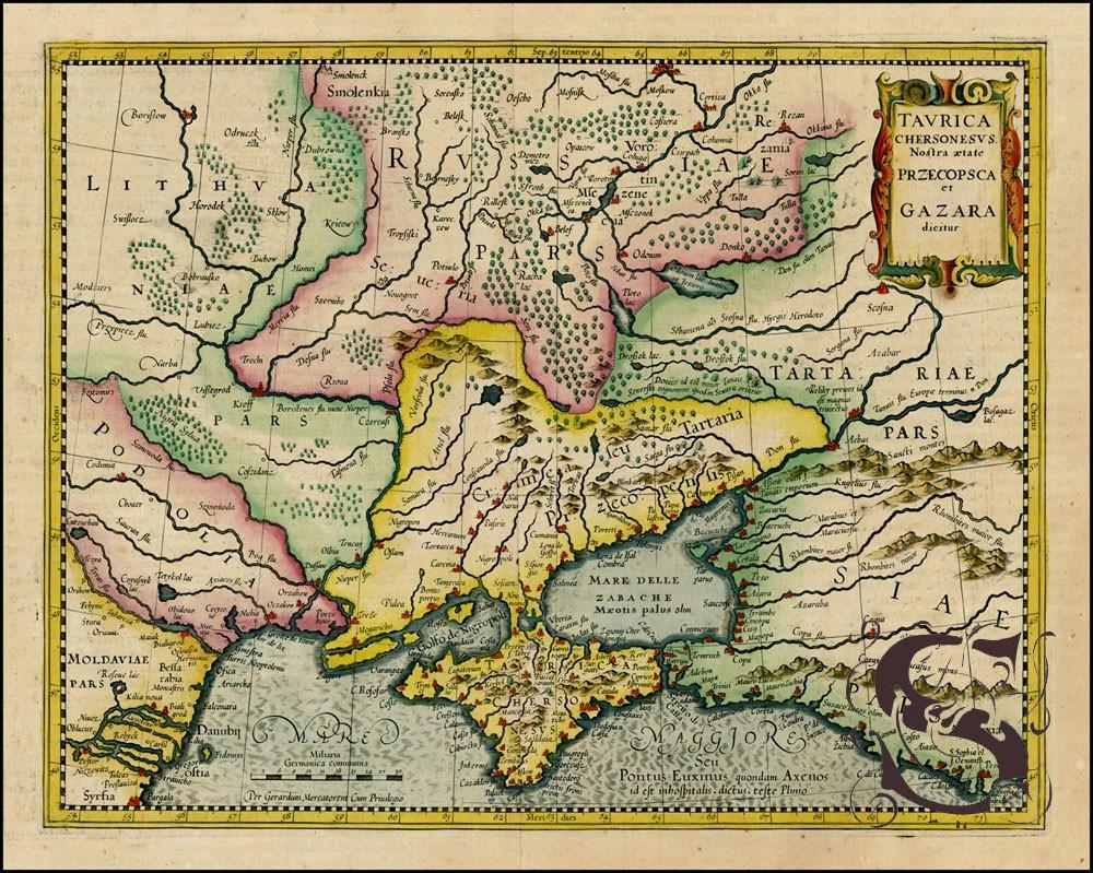 Про Крым, происхождение самого полуострова. Загадки и тайны.