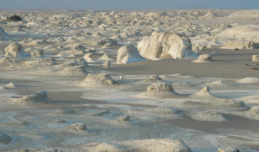 Белая пустыня: космические антуражи в центре Египта