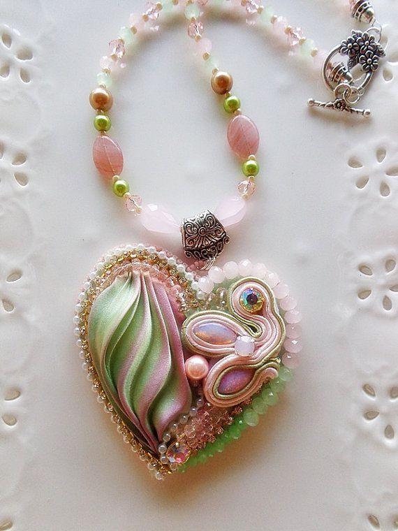 Шибори - ожерелья и кулоны, МК