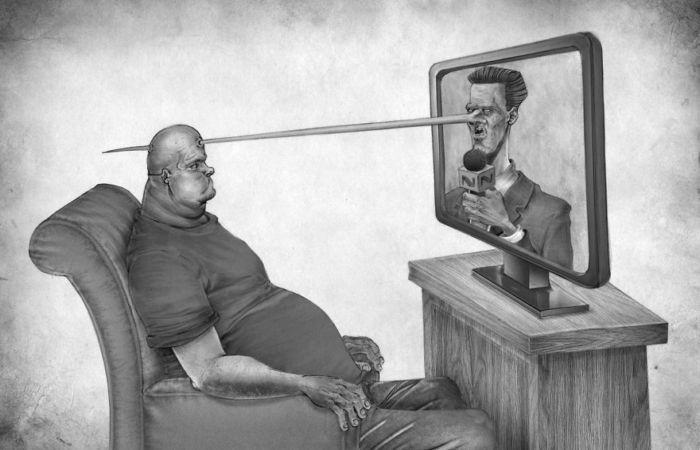 20 провокационных иллюстраций, раскрывающих горькую правду о современном обществе