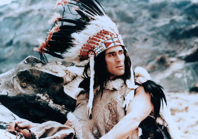 25 лучших фильмов про индейцев Гойко Митич, индейцы, кино