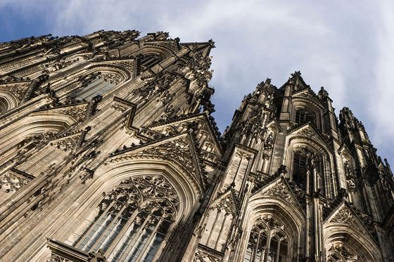 Кёльнский собор (Германия) красиво. необычно, храм. мир