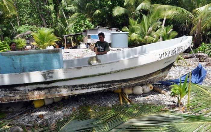 «Я был так голоден, что ел свои ногти» или 438 дней одиночества в открытом океане люди, океан, рыбак