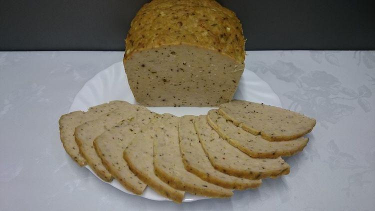 Мясной хлеб на бутерброды - колбаса просто