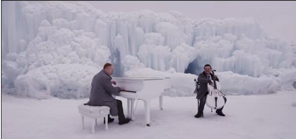 """Потрясающая музыка Вивальди и саундтрека к """"Холодному сердцу"""" от The Piano Guys"""