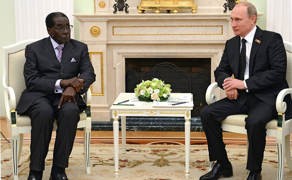 Зачем Путин пожал руку каннибалу?