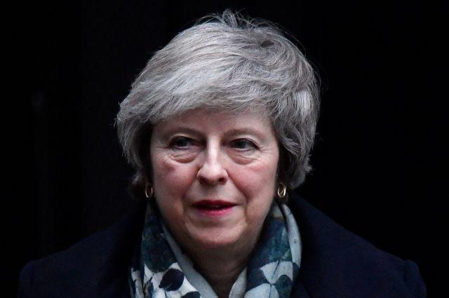 Мэй сообщила, что голосование парламента по Brexit пройдет в январе