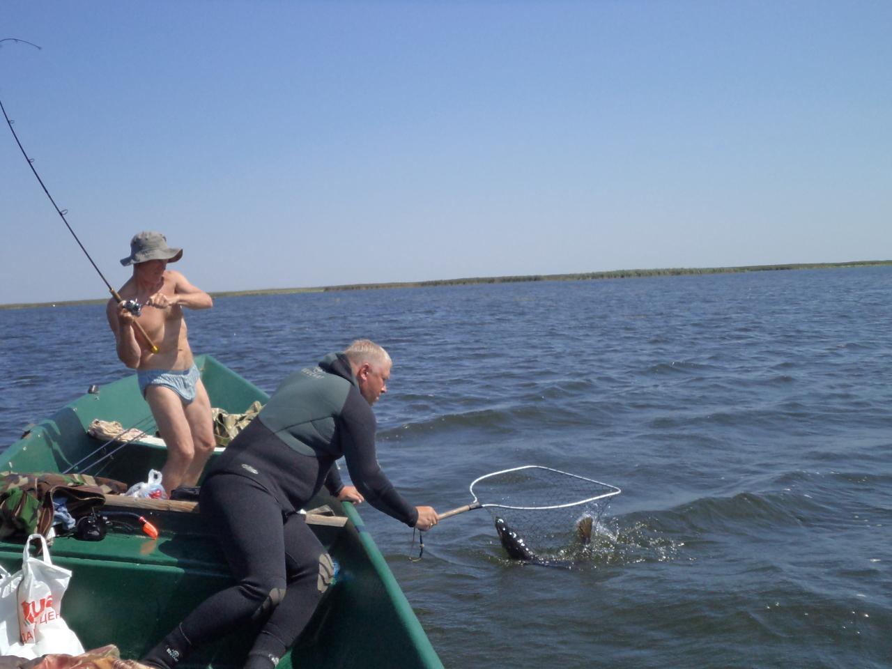 рыбалка в гандурино