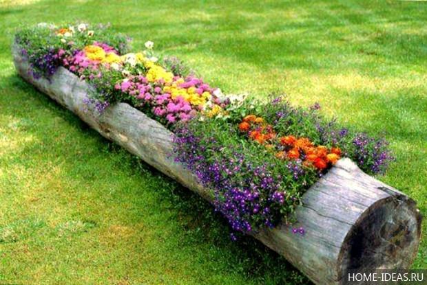 Шины для сада своими руками
