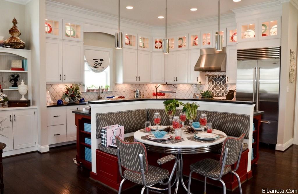 Кухня в стиле ретро: винтажный интерьер в духе середины 20 века