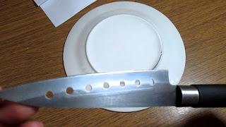 Как легко и просто заточить нож при помощи обычной тарелки