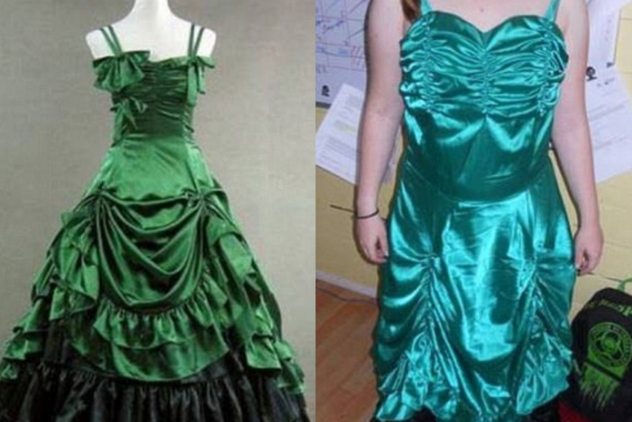 Заказ выпускного платья в интернете: ожидание и реальность