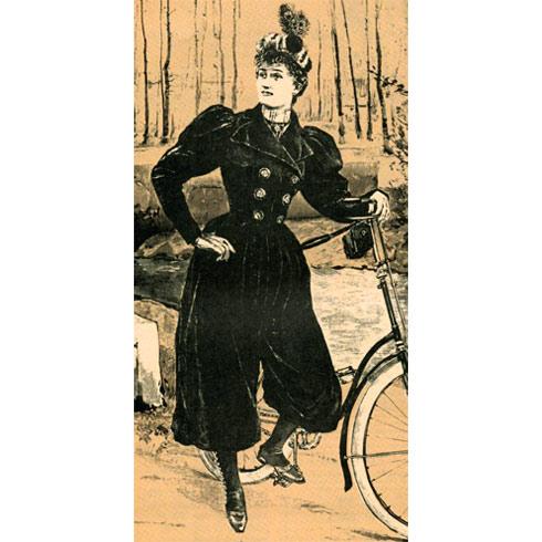 Улыбнуло: Советы велосипедисткам конца XIX столетия