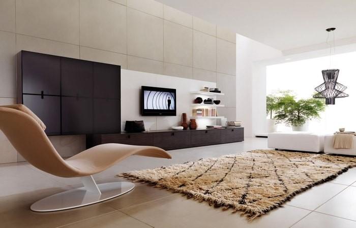 Причины, по которой стоит выкинуть диван из малогабаритки: [b] Причина №2:[/b] без дивана гостиная смотрится элегантно    Перед владельцами малогабариток вопрос свободного места в квартире всегда
