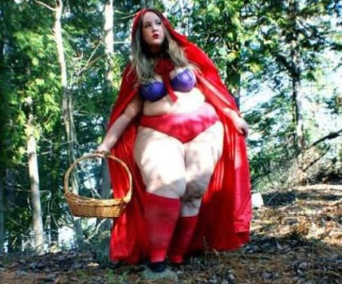 секс в лесу красная шапочка