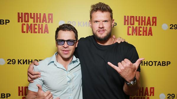 Павел Деревянко и Владимир Я…