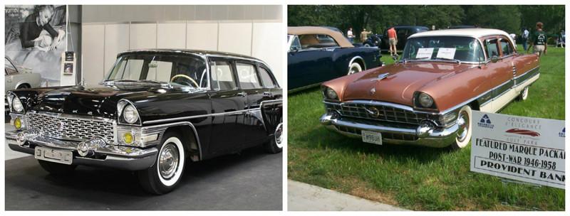 ГАЗ-13(1959-1981)- Packard Patrician(1956-1958) автомобили, история, ссср, факты