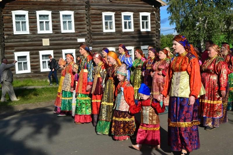2. Село Усть-Цильма, Коми деревни, россия, съела, это красиво