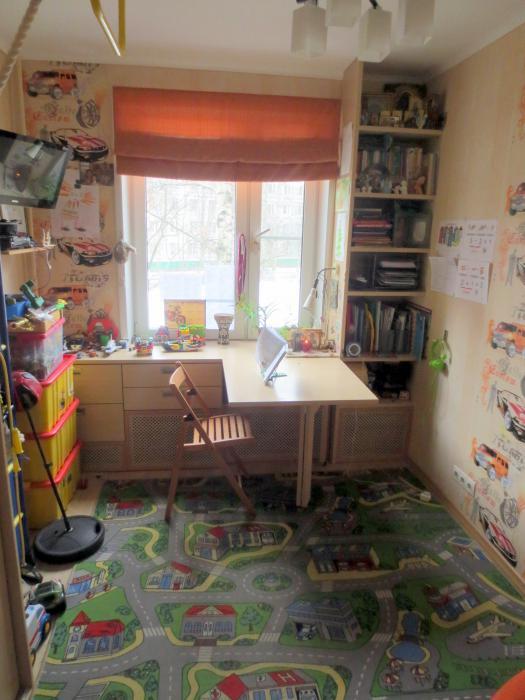 Интерьер комнаты 9 кв.м