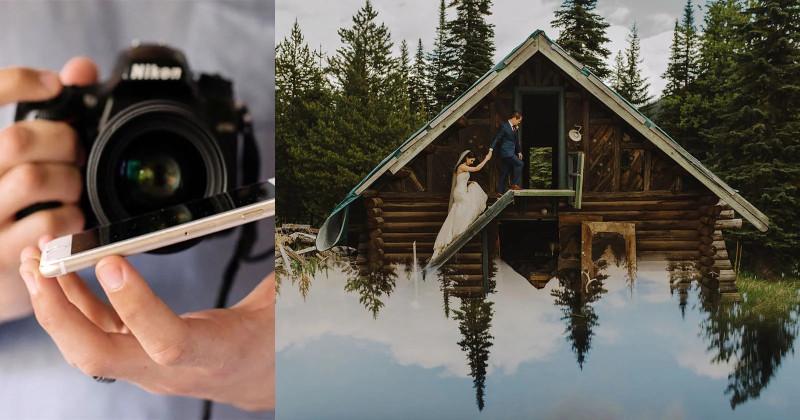 Никакого фотошопа: свадебный фотограф показал, как с помощью смартфона делать крутейшие фотографии
