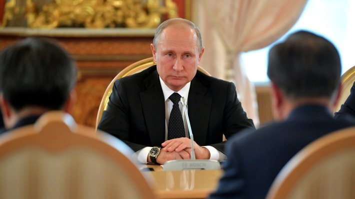 Путин рассказал о «крайне негативном» отношении России к расширению НАТО за счет Грузии и Украины