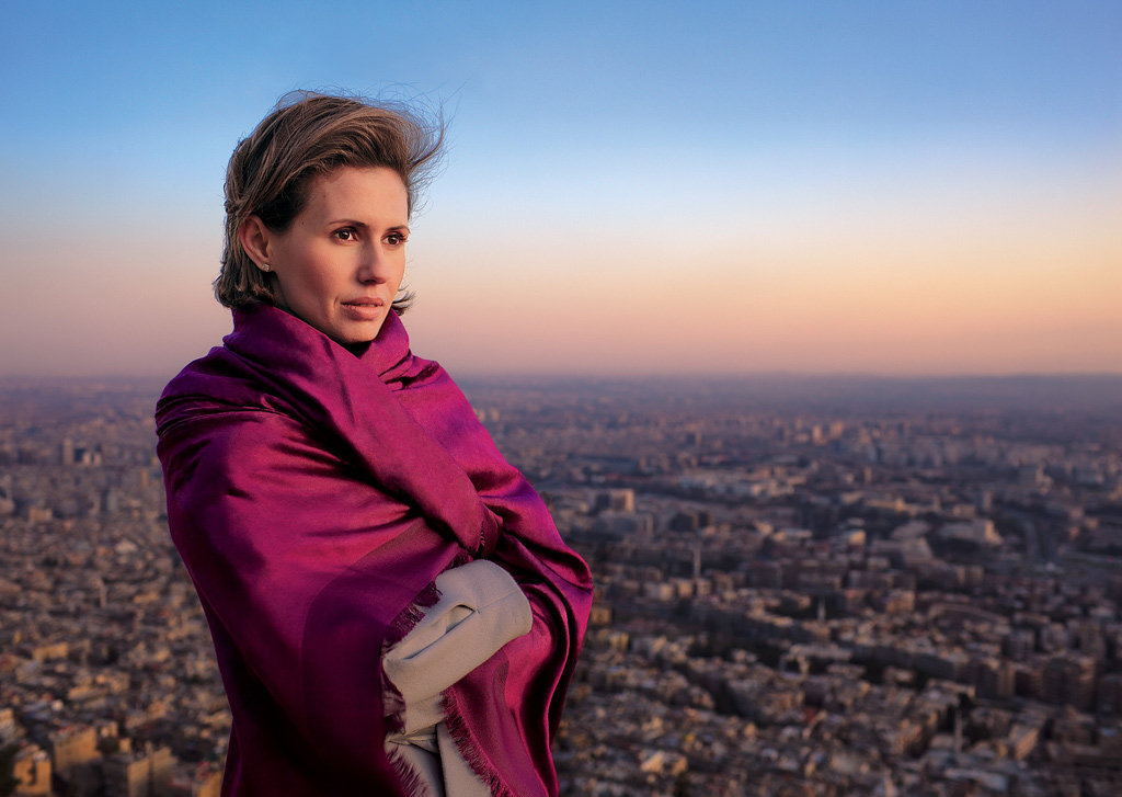 Раз уж тема Сирии так актуальна. Немного о жене Башара Асада - Асме аль-Асад