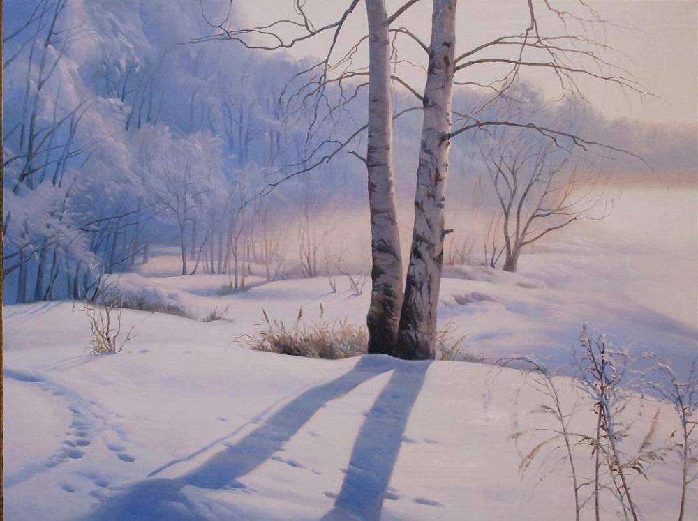 Пейзажи украинского художника Виктора Долгополова