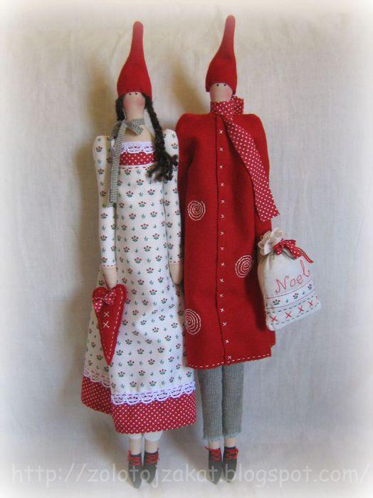 Куклы: идеи, выкройки