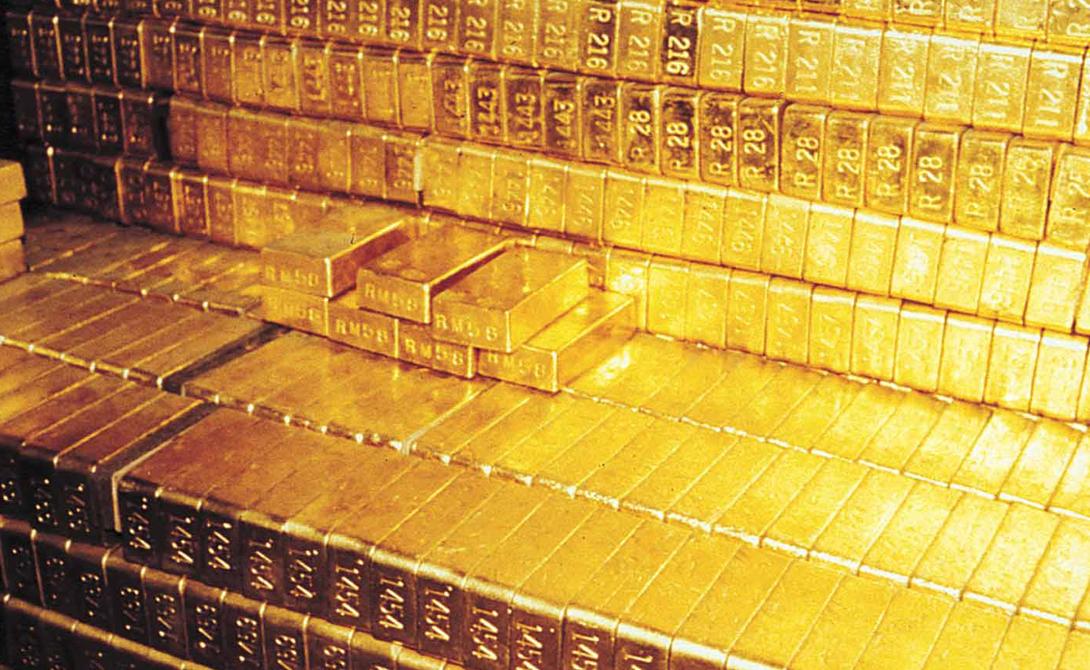 В листьях эвкалипта тоже содержится золото.