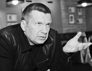 Соловьев прокомментировал намерение Кара-Мурзы нести гроб Маккейна
