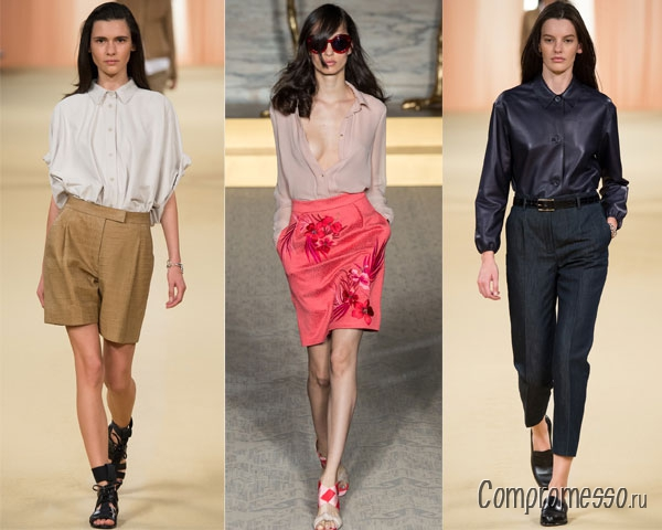 Модные Блузки Весна Лето 2017 Доставка