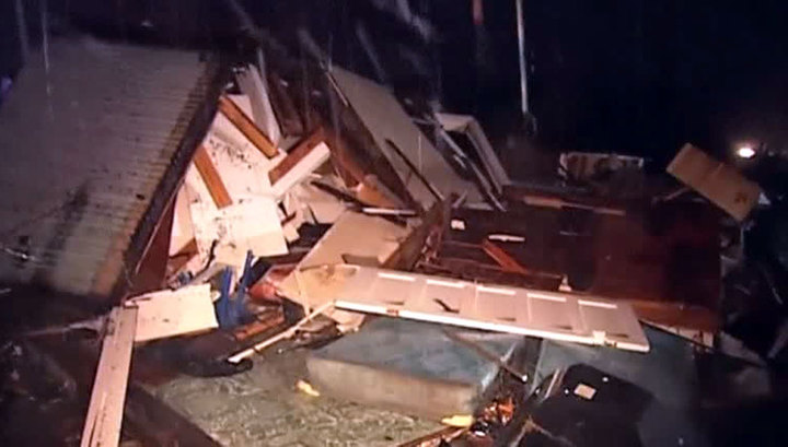 Торнадо в Алабаме: пострадал…