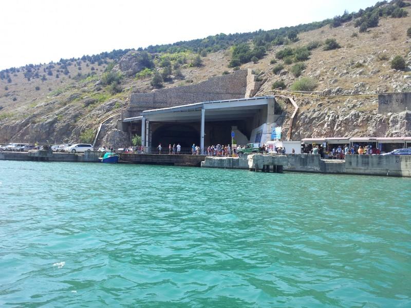 вход для лодок в балаклаве