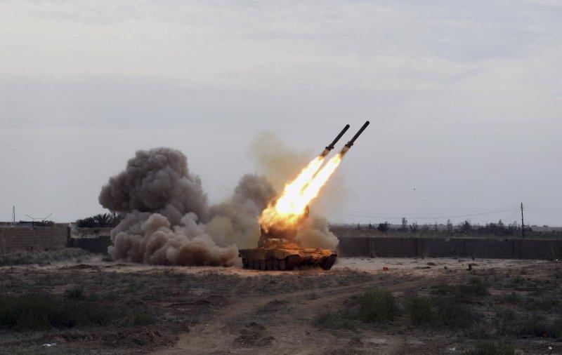 Кровавый «Буратино» превращает в руины позиции террористов в Сирии