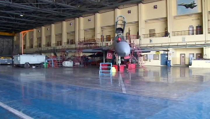 В Индии выпустили юбилейный Су-30