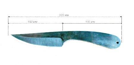 Метательные ножи чертеж