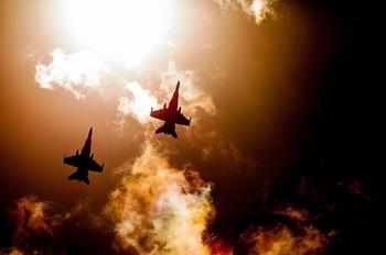 Американские истребители и российские самолеты опасно сблизились в Сирии