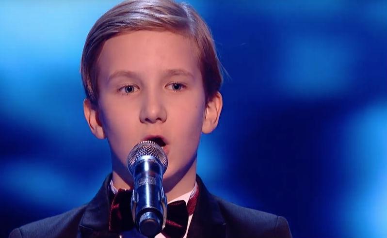 11-летний россиянин покорил всех на британском «Голосе»