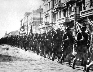 Россия отмечает столетие вторжения американских войск