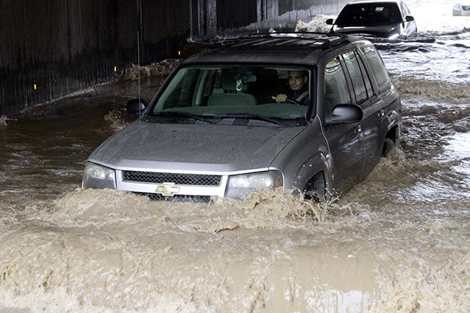 На Иорданию обрушились ливневые дожди